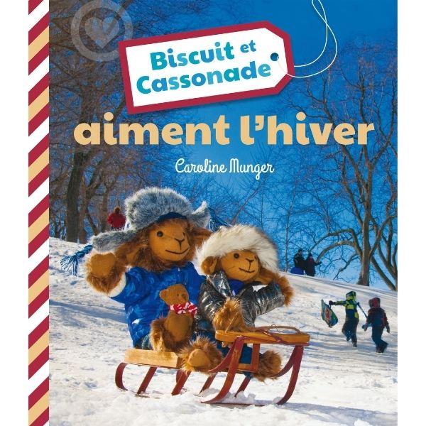Biscuit et Cassonade aiment l'hiver